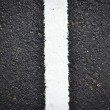 New white line on road texture — Stock Photo #36744021