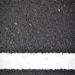 New white line on road texture — Stock Photo #36744661