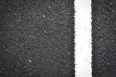 Nya vita linjen på väg konsistens — Stockfoto