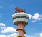 Radar tower communication and nice sky — Foto Stock
