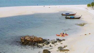 Koh Lipe Famous Island Of Thailand — Stock Video