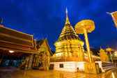 Wat Phra That Doi Suthep Famous Temple of Chiang Mai, Thailand — Stock Photo