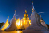 Wat SuanDok Famous Temple of Chiang Mai, Thailand — Stock Photo