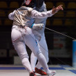 Fencing Cup Torino 2013 woman foil championship - Stock Photo