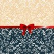 Royalty-Free Stock Vector Image: Vintage romantic background floral card