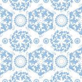 Patrón sin costuras floral vintage mandala — Vector de stock