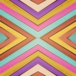 Vector colorful wooden background - Stock vektor