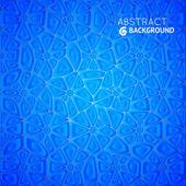Abstrakt blå vektor bakgrund — Stockvektor