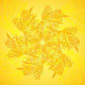 Sztuka wektor etniczne ornament mandala tło — Wektor stockowy