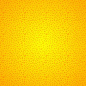 Yellow seamless background grunge dots — Stock Vector