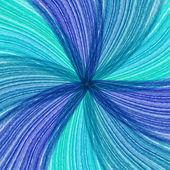 Blå bakgrund av abstrakt mjuka kurvor — Stockvektor