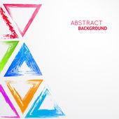 абстрактный фон в треугольной — Cтоковый вектор