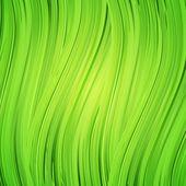 绿色的背景,与现实的草药的框架 — 图库矢量图片