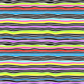 Seamless color stripes background — Stock Vector