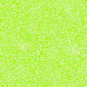 Verde primavera doodle de patrones sin fisuras como encaje — Vector de stock