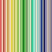 Rainbow colored barcode background. — Stock Vector
