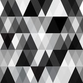 Black and white abstract geometry pattern — Stock Vector