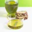 A Bottle of Olive Oil. — Stock Photo