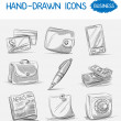 Stock Vector: Set of business icons