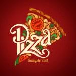 Pizza design template — Stock Vector #38989795