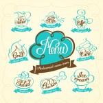 Restaurant menu design — Stock Vector #38989941