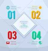 Modern design template — Vector de stock