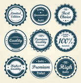 Collection of labels. — Stock Vector