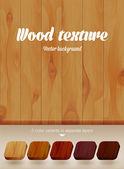 Vector wood texture — Stock Vector