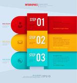 Modern vector design template — Vector de stock