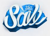 Sale typography background. — Stock Vector