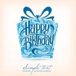 Birthday card. — Stock Vector #38990227