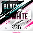 Stock Vector: Party poster template.