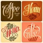 Restaurant menu design — Stock Vector #38990331