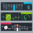 Set of various elements used for user interface — Stock Vector #42784823