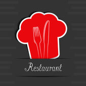 Vector menu restaurant card — Stock Vector