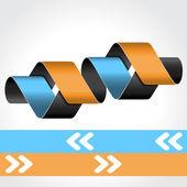矢量 web 模板-4 步骤、 选项、 横幅 — 图库矢量图片