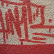 GRAFFITI BACKGROUND — Foto Stock #12586731