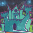 Graffiti detail — Foto de Stock