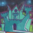 Foto Stock: Graffiti detail