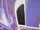 Detalhe graffiti — Fotografia Stock