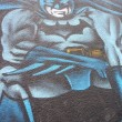 Постер, плакат: GRAFFITI DETAIL BATMAN