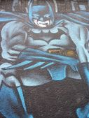 GRAFFITI DETAIL BATMAN — Stock Photo