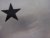 Black Star — Stock Photo