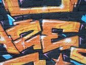 Graffiti detalj — Stockfoto