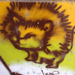 GRAFFITI DETAIL LION -  