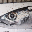 FISH HEAD GRAFFITI - Stock Photo