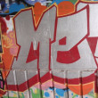 GRAFFITI DETAIL - Stock Photo