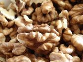Walnuts close-up — Stock Photo