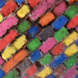 Colorful Brick Wall - Stock fotografie