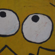 Graffiti Detail Eyes - Foto de Stock